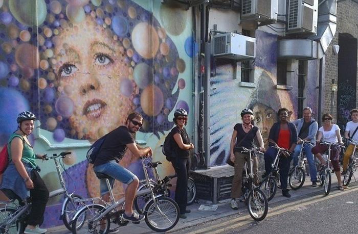 Alternative London Bike Tour