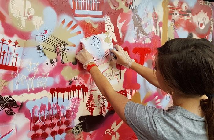 street art workshop london
